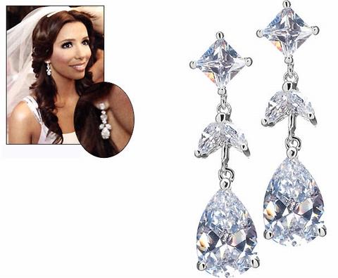 Eva's Pear & Marquis Earrings
