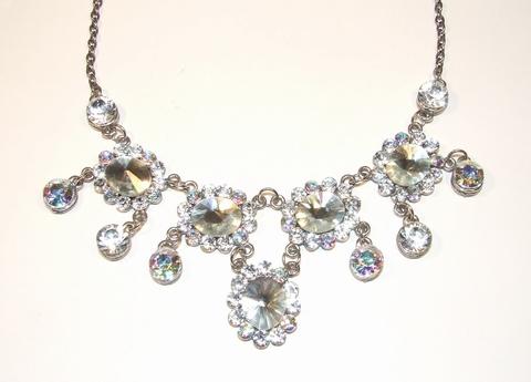 Collier 008749 | Schitterend collier met strass stenen