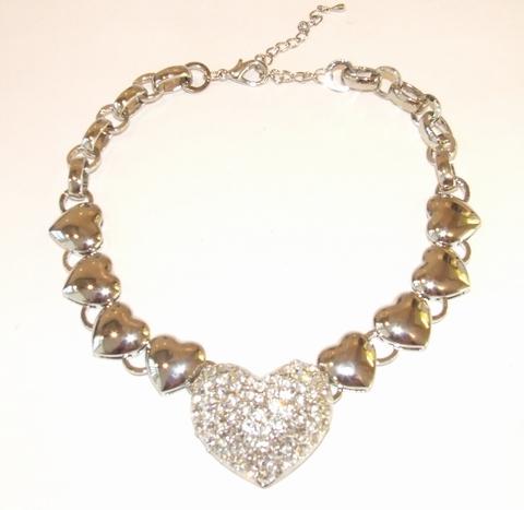 Collier hart 0047 | Schitterend harten collier