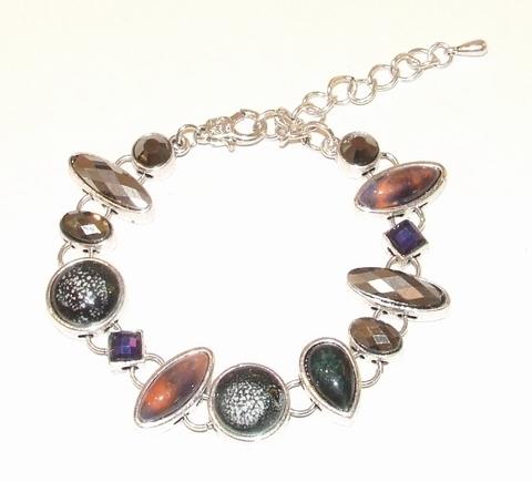 Armband stenen 0955 | Aparte armband met stenen