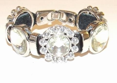 Armband Josh 4449 | Josh stijl armband met strass stenen