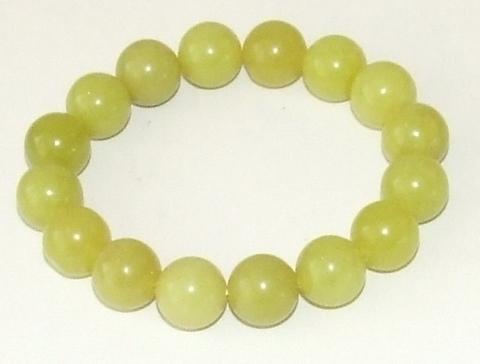 Armband groen 4100 | Groene glaskralen armband