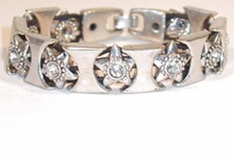 Armband ster 7207 | Armband met sterren en strass