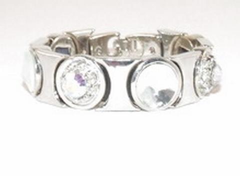 Armband Josh 01205 | Josh stijl armband ronde strass stenen