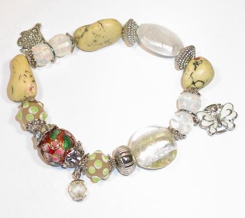 Armband met bedels 7926 | Armband met bedels multi colour