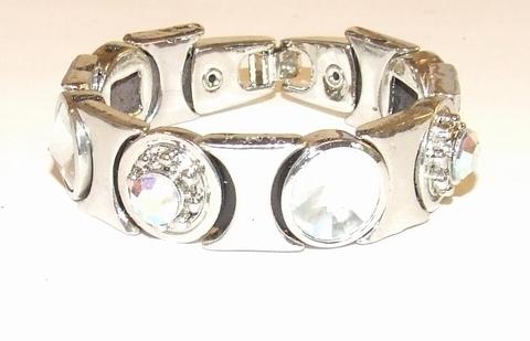 Armband 765413 | Josh stijl armband met strass