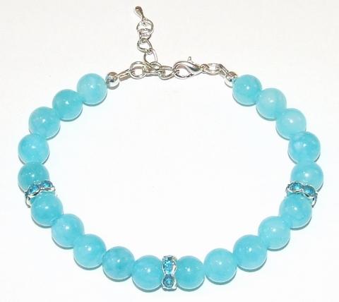Armband  Aqua 79121 | Armband met edelstenen