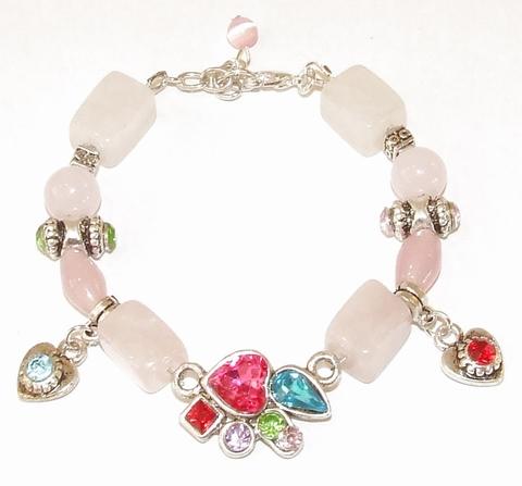 Armband Rozenkwarts 50551 | Armband edelsteen roze