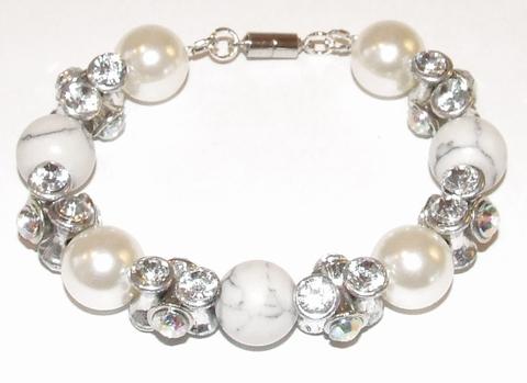 Armband parels 39042 | Armband met parels/kralen/strass