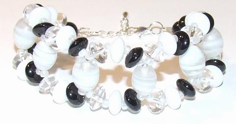 Armband apart 34129 | Aparte armband glaskralen