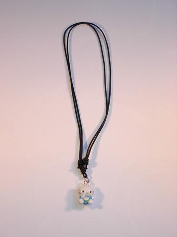 Hello Kitty veter-ketting blauw