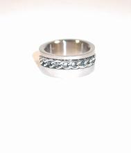 Extra zware kwaliteit edelstaal RVS ring