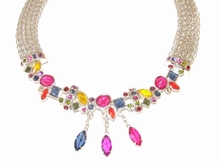 Collier multi colour 9747 | Apart collier multi colour