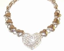 Collier hart 0047   Schitterend harten collier