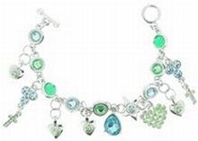Armband Otazu 33557 | Otazu stijl armband blauw/groen