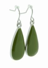 Oorbellen groen 33554 | Trendy groene oorbellen