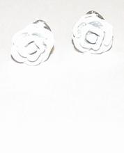 Oorknopjes roos wit 66 | Witte roos oorknopjes