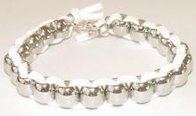 Armband veter wit 31170 | Trendy witte veter armband