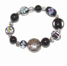 Armband glaskralen 1732 | Multi colour armband glaskralen