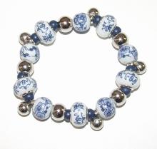 Armband Delfsblauw 6533 | Delfsblauwe armband