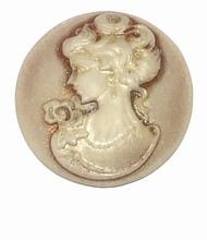 Bruine Camee munt voor muntenhouder