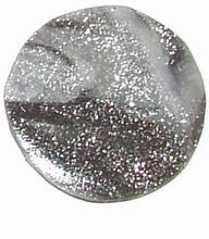 Munt voor munthouder licht/donkergrijs met glitters