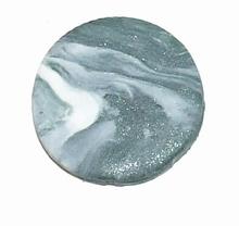 Munt voor munthouder grijs met wit