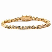 Tennis Armband GoldPlated