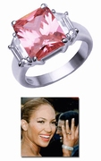 Pink Diva Engagement Ring